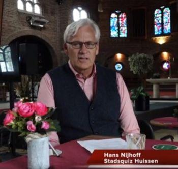 Hans Nijhoff geeft meer informatie over deelname digitale Stadsquiz 2.0.
